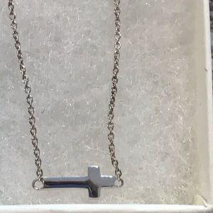 Silpada Jewelry - Silpada Simplex Cross Necklace NIB